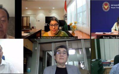 """สภาอุตสาหกรรมฯ ร่วมบรรยายในงานสัมมนาออนไลน์ """"India-Thailand Relations : Strengthening India-Thailand Bilateral Engineering Ties"""""""