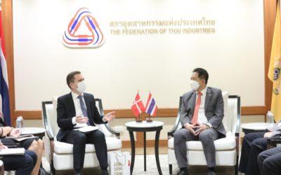 สภาอุตสาหกรรมฯ หารือเอกอัครราชทูตเดนมาร์กประจำประเทศไทย ผลักดัน FTA ไทย-สหภาพยุโรป