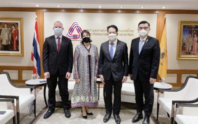 ส.อ.ท. หารือเอกอัครราชทูตอาร์เจนตินาประจำประเทศไทย เพื่อส่งเสริมความร่วมมือระหว่างกัน