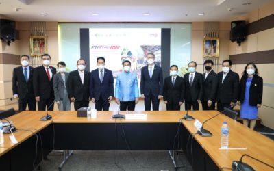 สภาอุตสาหกรรมฯ ยกทีมพบรัฐมนตรีว่าการกระทรวงอุตสาหกรรมขอรับสนับสนุนงาน FTI EXPO