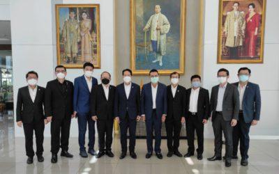 สภาอุตสาหกรรมฯ ยกทีมพบกรรมการผู้จัดการใหญ่ เอสซีจี เชิญร่วมสนับสนุนงาน FTI EXPO 2022