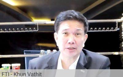 ส.อ.ท. ร่วมหารือเรื่องการประเมินความเสี่ยงและการปรับตัวของไทยต่อโครงการรถไฟจีน-ลาว