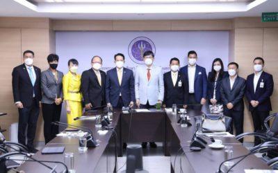 ส.อ.ท. ยกทีมพบรัฐมนตรีกระทรวงการอุดมศึกษา วิทยาศาสตร์ วิจัยและนวัตกรรม สนับสนุนงาน FTI EXPO