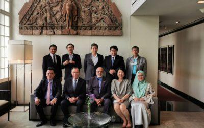 สภาธุรกิจไทย-มาเลเซีย เข้าร่วมงาน Business Luncheon กับ เอกอัครราชทูตมาเลเซียประจำประเทศไทย (H.E. Dato' Jojie Samuel)